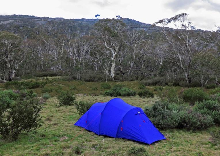 Camping below Mount Kelly, Namadgi National Park