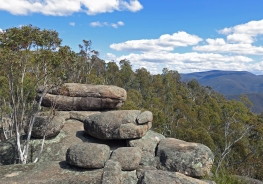 Granite boulders near Smokers Gap, Namadgi National Park, ACT