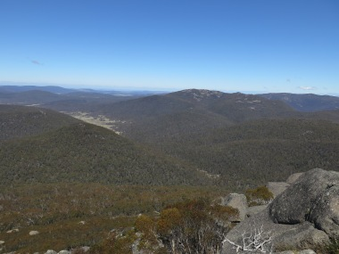 Nass River valley from Mt Gudgenby, Namadgi National Park, NSW