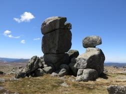 Easter Island statues! Ramshead Range, Kosciuszko National Park, NSW