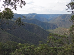 Rugged Shoalhaven country near Washedaway Creek, Morton National Park, NSW