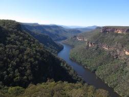 Above Lake Yarrunga, Morton National Park, NSW