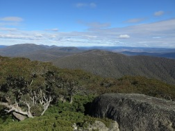 View from Mt Gingera, Namadgi National Park, ACT